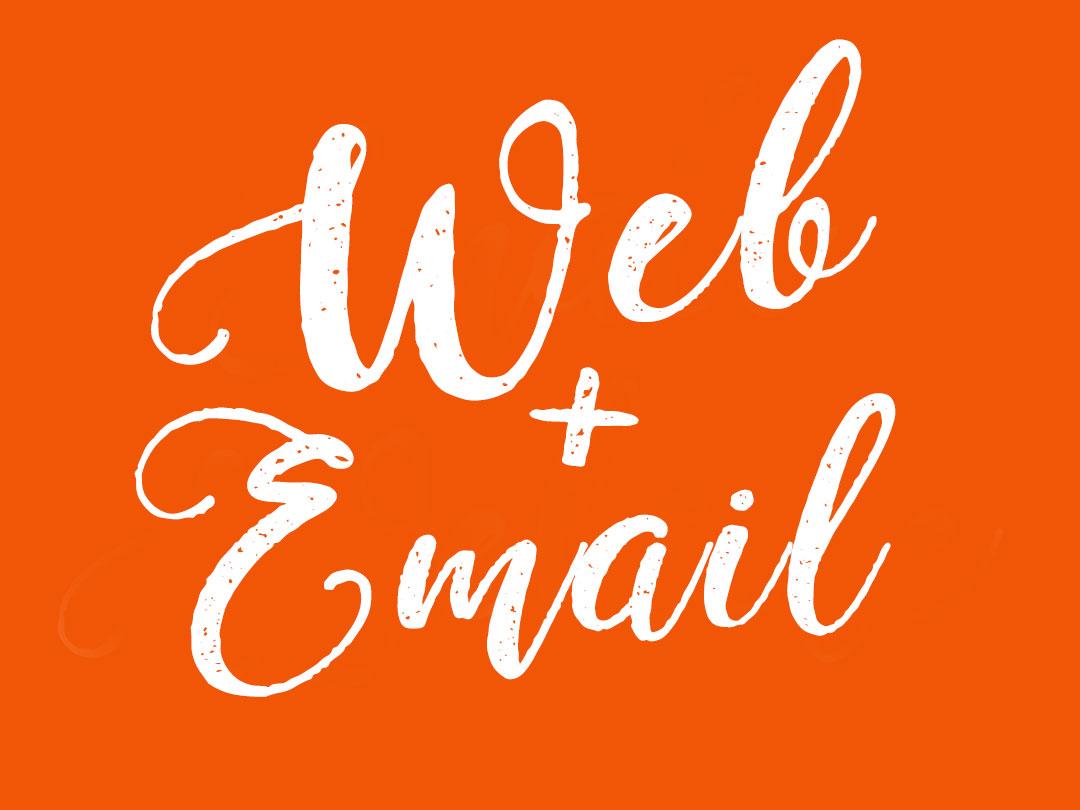 Web hosting plus email hosting sunshine coast