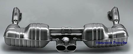 sport exhaust system cayman 987