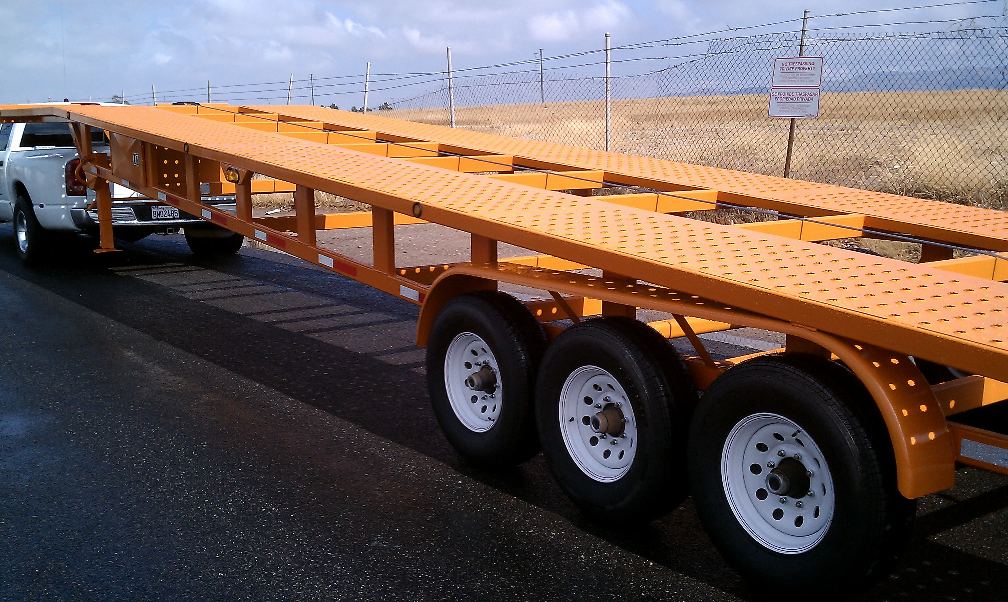 48 Or 53 Foot Wedge 3 Car Hauler SunCountry Trailers