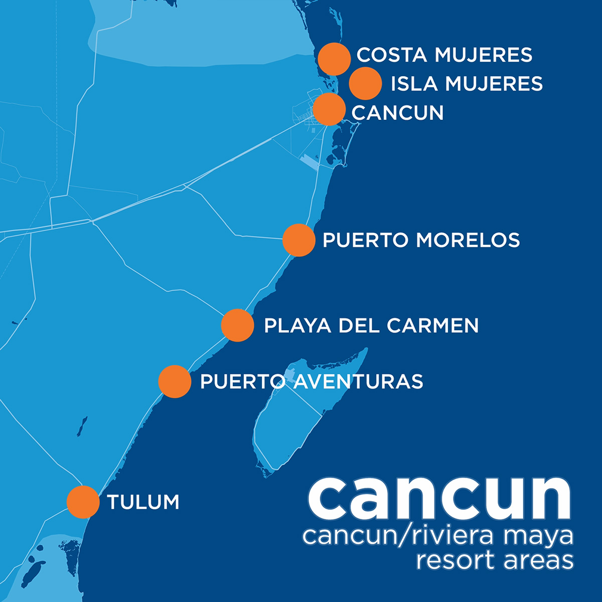 A Travel Guide to the Resort Areas of Cancun/Riviera Maya