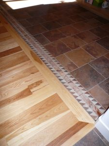 Wood-Tile-Transition