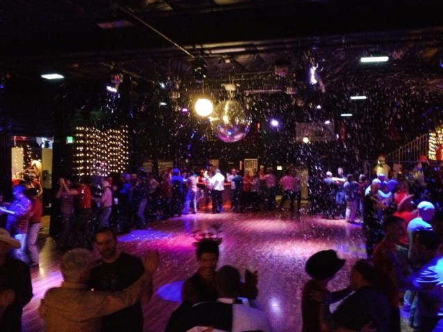 Snowing at the Sundance Saloon Holiday Ball