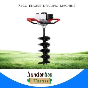 52cc / 71cc engine drilling machine high power mining tools hole pile driver gasoline drilling machine