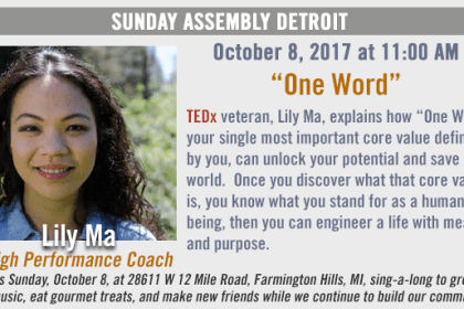 "Sunday Assembly Detroit ""One Word"""