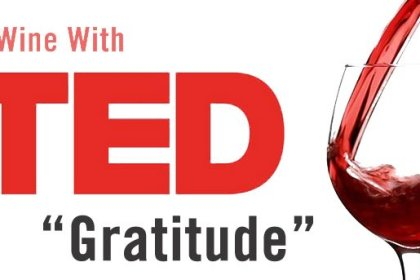 """Wine with TED """"Gratitude"""""""