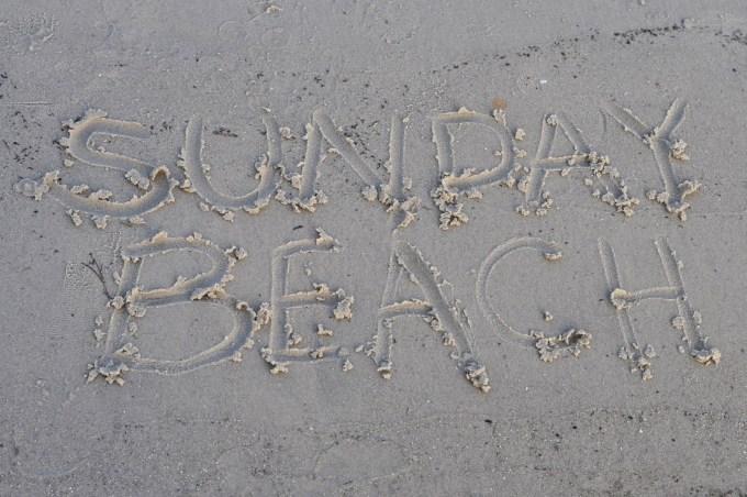 Sunday Beach Port O'Connor Texas