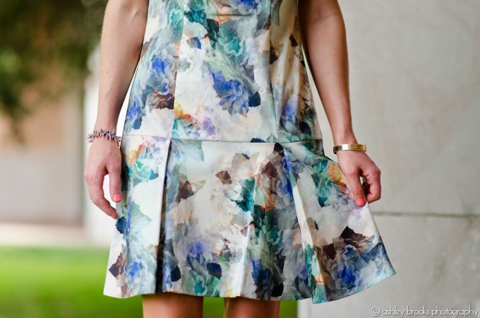 Rebecca Taylor Drop Waist Dress