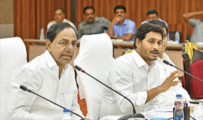 Image result for kcr and jagan