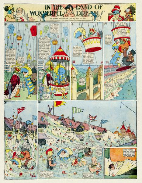 Image result for the adventures of nemo in dreamland comic