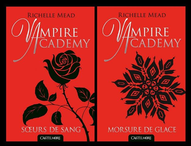 nouvelles couvertures vampire Academy