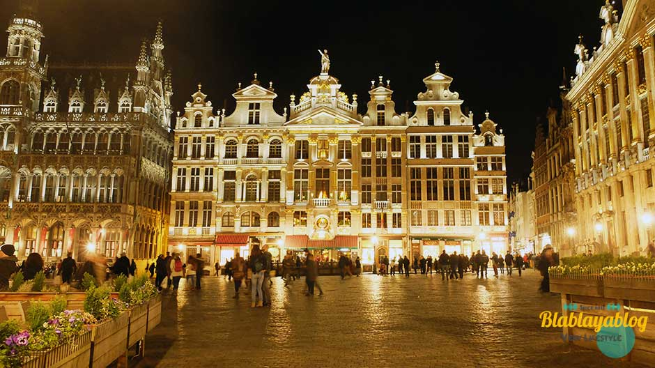 Bruxelles-Grand-Place-De-Nuit