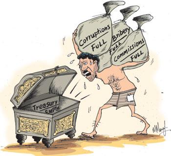 Image result for government plundering cartoons sri lanka