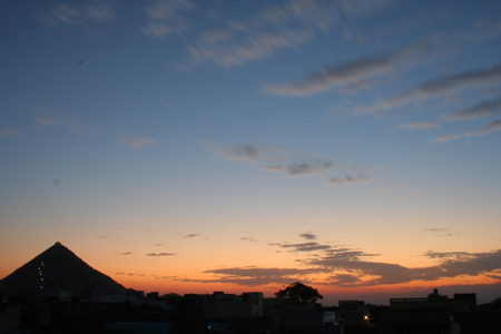 Pushkar sunset 2