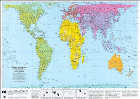 Accurately Sized World Map.Bet You Didn T Know This Sundeep Sidhu