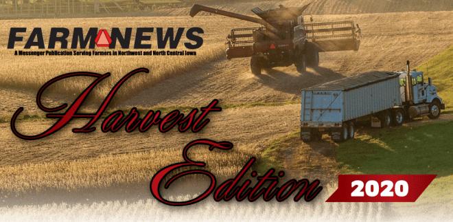 Farm News Harvest Edition Article