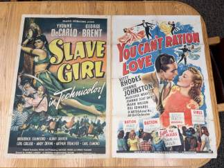 Movie Poster Auction #3 - 118 of 195