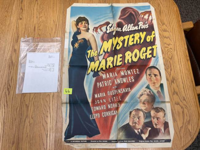 Movie Poster Auction #3 - 123 of 195