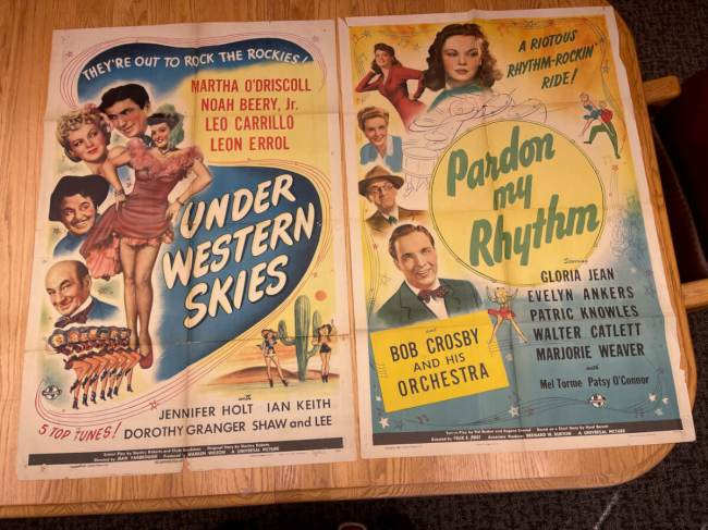 Movie Poster Auction #3 - 126 of 195