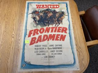 Movie Poster Auction #3 - 130 of 195