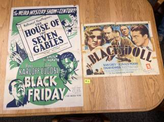 Movie Poster Auction #3 - 153 of 195