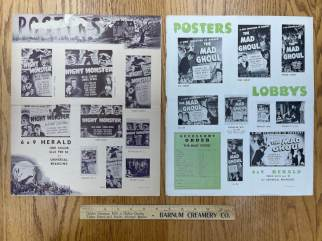 Movie Poster Auction #3 - 2 of 195