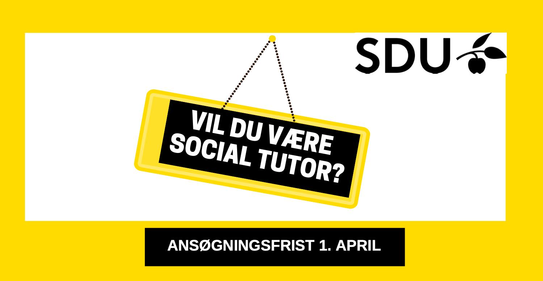 Vil du være social tutor?