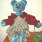 Blue Bear - SOLD
