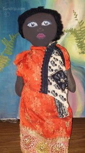 African American Art Doll