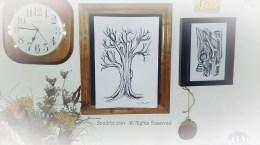 Ink Tree, A Tree