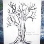 Tree Art, 9.5 x 13