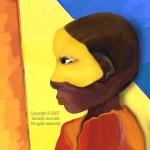 A Boy's Mask - Digital-Redbubble