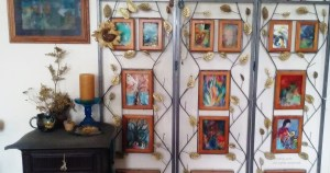 Room Divider Art Display