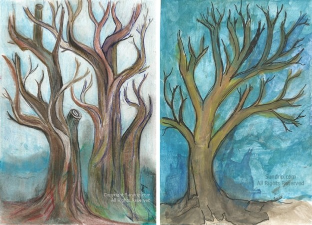 Trees Lot Art Sale