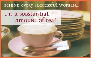 tea and success - google image
