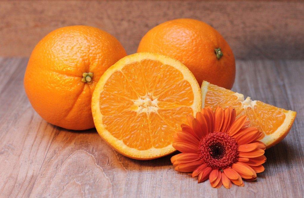 Imagem de laranjas.