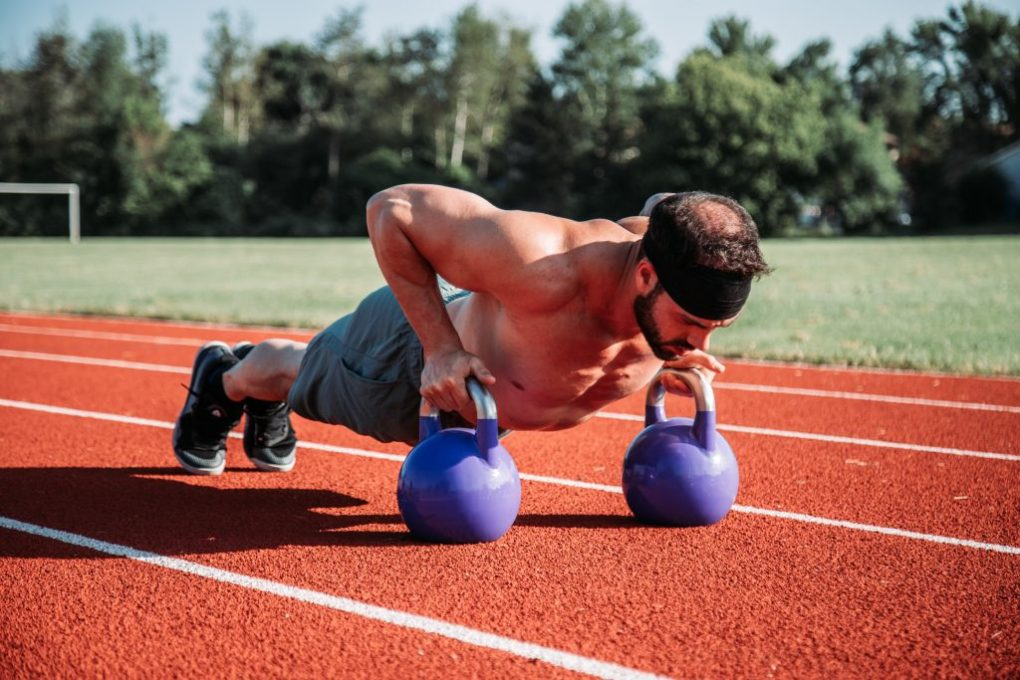 man training met halters