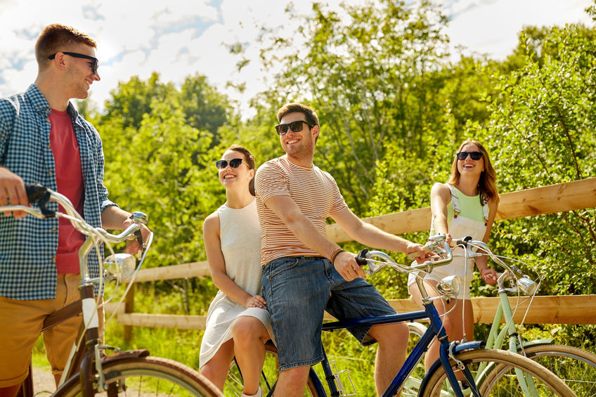 fietstocht vrienden