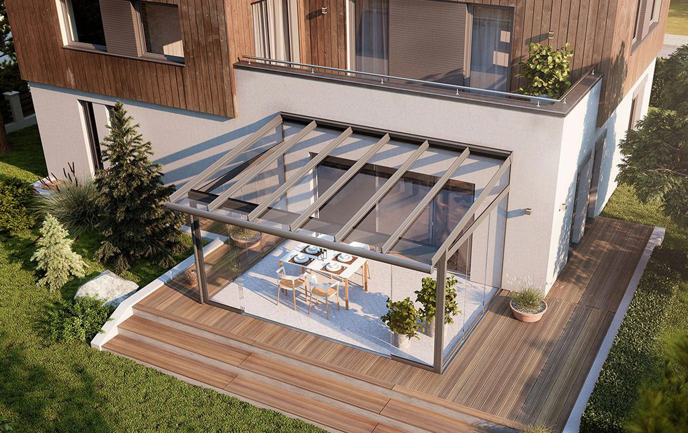glass patio roofs garden patio roofs