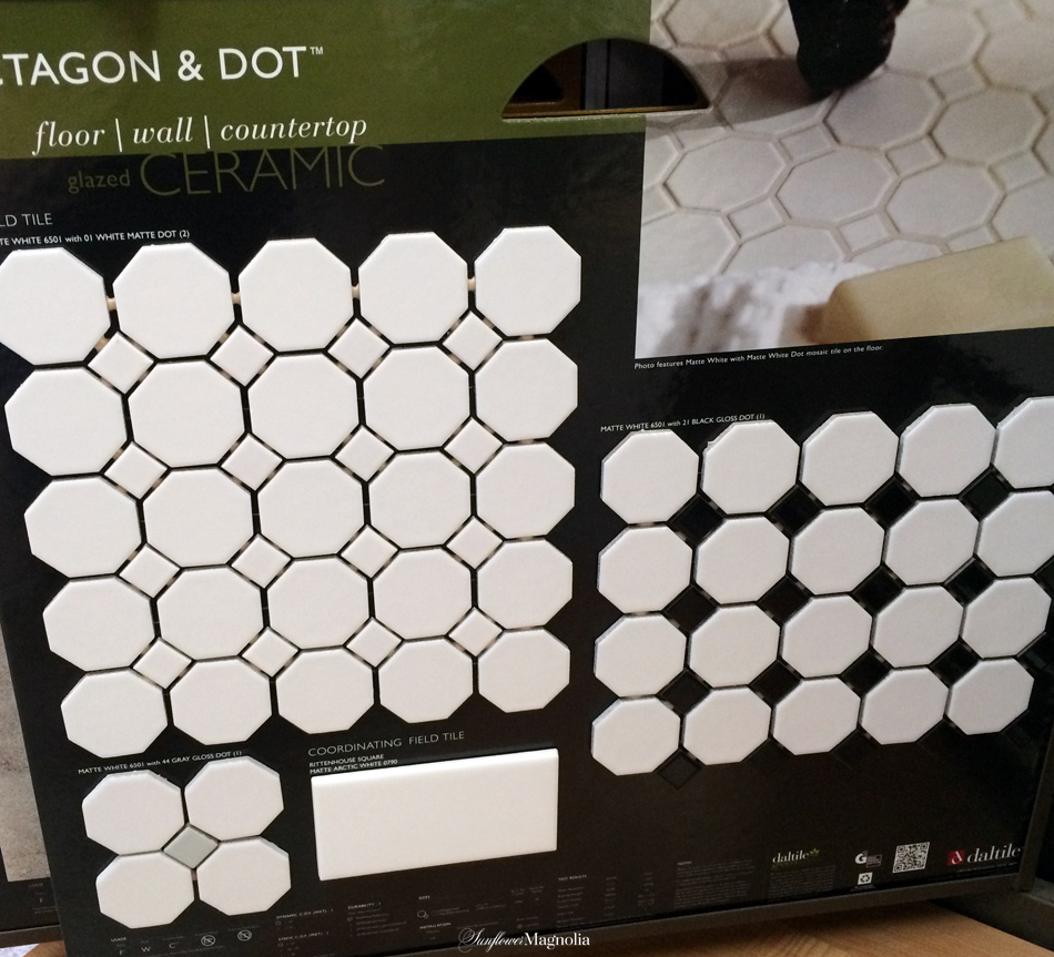 I never thought I would spend so much time looking at tile in my whole life!