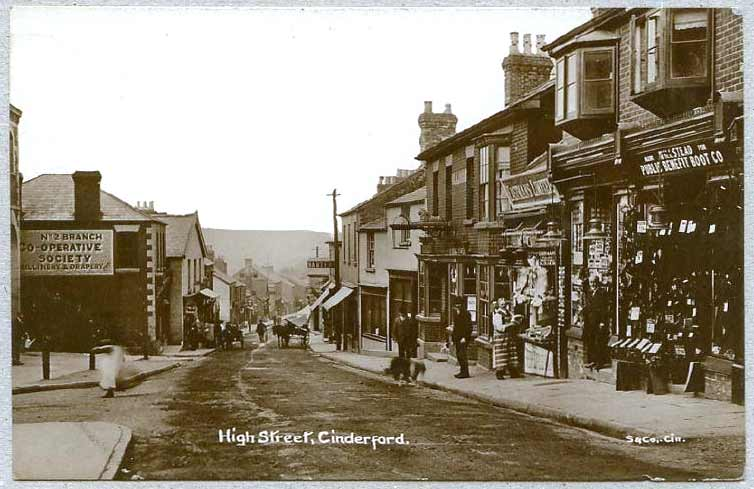 Shops In Cinderford High St