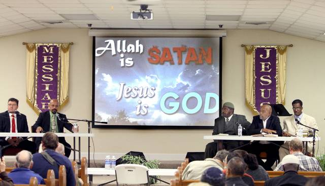 allah is satan and Jesus is God