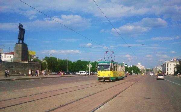 Проспект Ленина - Фото Дом Солнца