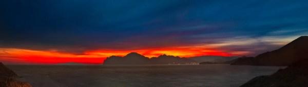 зимняя палитра заката - Фото Дом Солнца