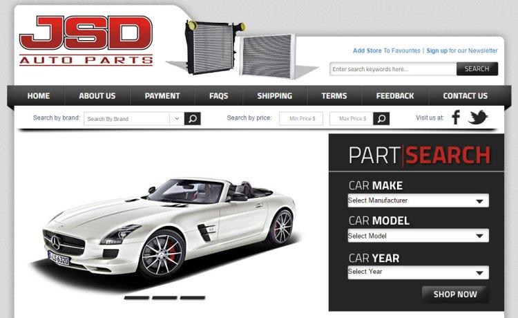 Sunil Chauhan's Project - JSD Auto Parts