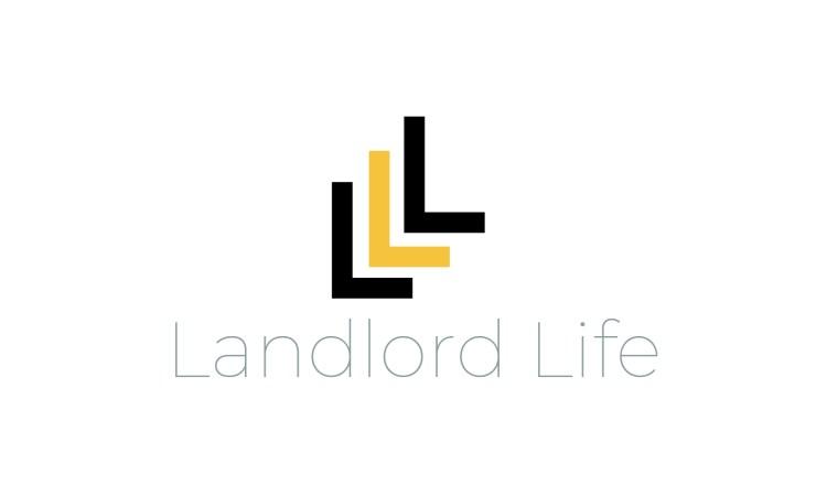 Landlord Life Logo Design
