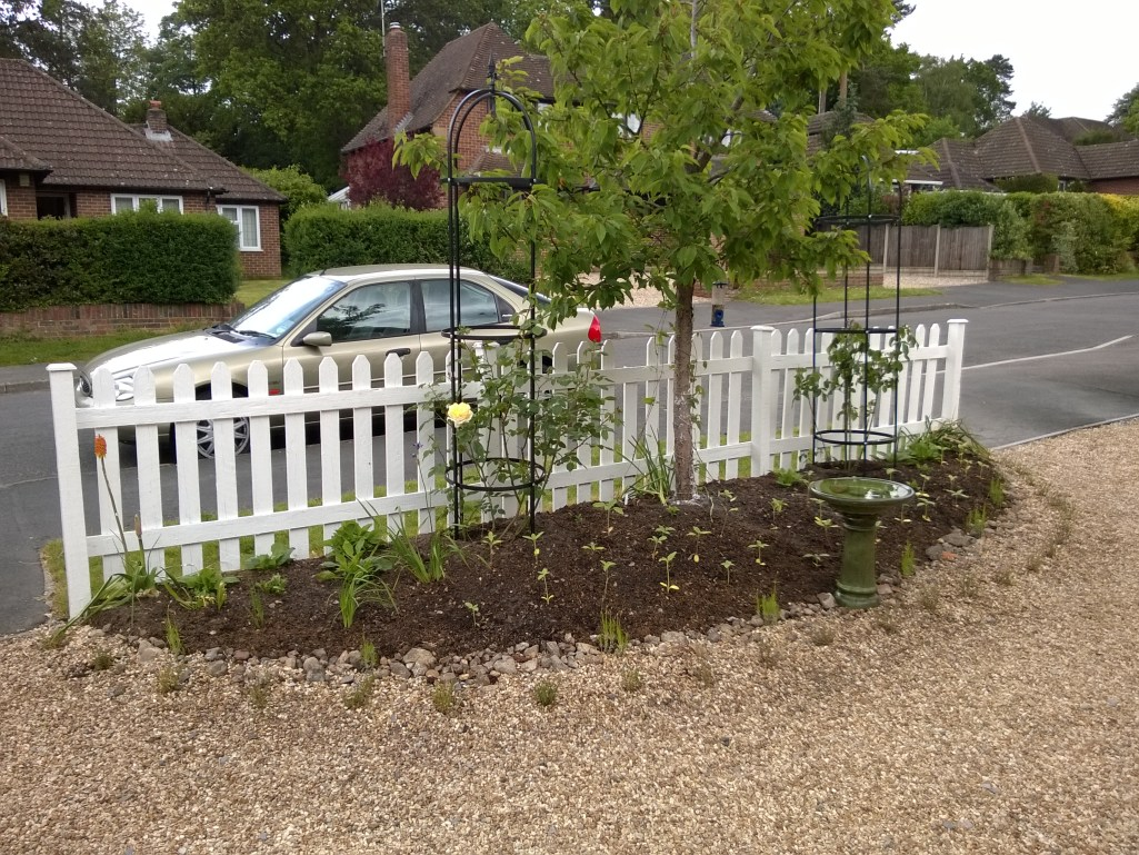 Completed Front Border 2014