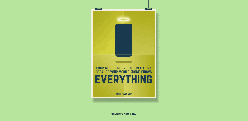 mobile knows everything poster
