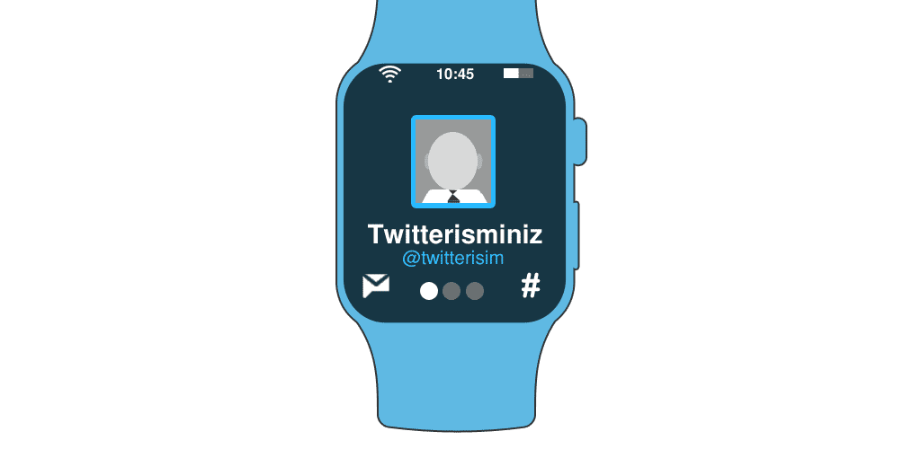 apple watch ve twitter