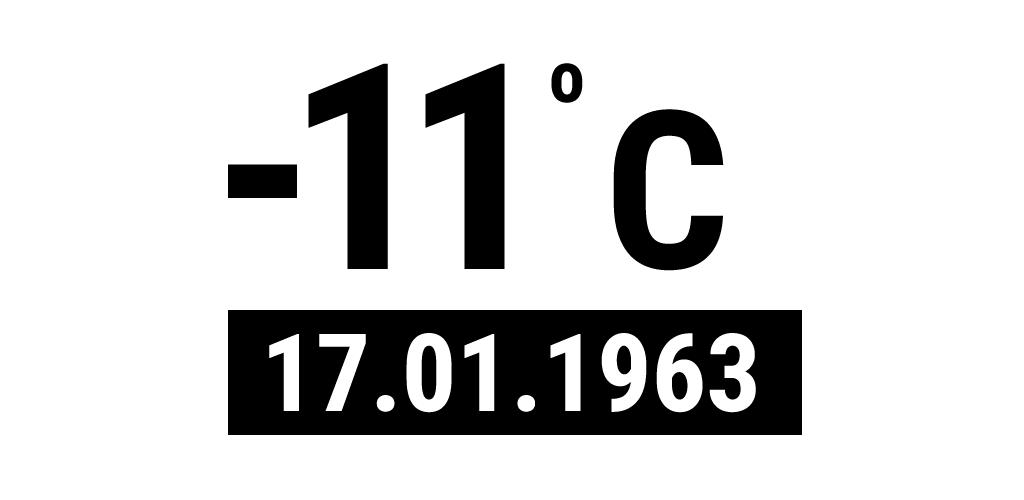 eksi 11 derece