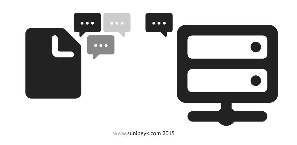 siteler ve konuşan makineler